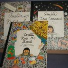 Books - 3 Amelia Books: Notebook, Takes Command and Hits the Road By Marissa Moss