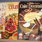 Magazines - Wilton - Santa's Holiday Treats,Celebrate Christmas  and Cake Decorating.  Like New