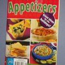 "Magazines - Simple 1 2 3 Appetizers - 8X5"" booklet, dips, nibbles, kabobs, wings"