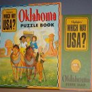 Highlights - Which Way USA? - Oklahoma Puzzle Book and Map - Excellent