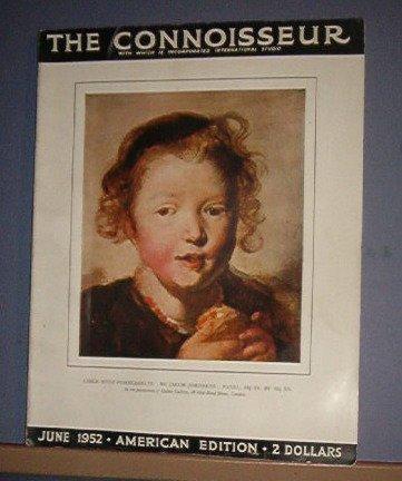 Magazine - The Connnoisseur - June 1952 - Excellent shape