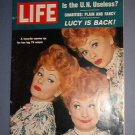 Magazine - Life - Lucille Ball - Lucy is Back - Jan 5, 1962 - Excellent Shape