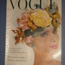 Magazine -Vogue - March 1, 1059 - Excellent Shape