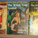 Book - Kids -  Scarlet Slipper,  Witch Tree, Moonstone Castle Mysteries, Nancy Drew - Good shape!