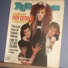 Magazine - The Rolling Stone - #423 - Boy George, Dennis Wilson