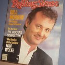 Magazine - The Rolling Stone - #428 Bill Murray and Springsteen