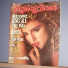 Magazine - The Rolling Stone - #435 Madonna, Van Morrison, Twisted Sister