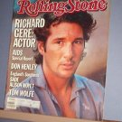 Magazine - The Rolling Stone - #446 Richard Gere: Actor