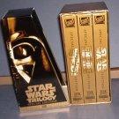 VHS - Star War Trilogy : Empire Strikes Back, Return of the Jedi, Star Wars - Excellent Lucas Film