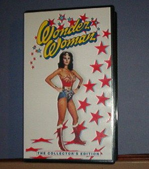 VHS - Wonder Woman - Collector's Edition - 100 min - The Boy Who Knew Her Secret Parts I & 2