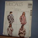 Sewing Pattern 8338 McCall's  Size 6 - 26 Misses quilted jackets. Very nice and Very warm