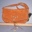 "Woman's Purses - Raw hide with stones, 20"" handle, 5.5X10"" Wilson Leather"