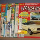 Magazine -Mustang Monthly  - January -August & December 1988