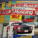 Magazine -Mustang Monthly  - Entire Year 1987