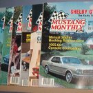 Magazine -Mustang Monthly  - February through May, June and November & December,1982