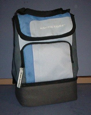 "Lunch Bag - Arctic Zone -7.5X6X11"" - Clean and bright, no tears"
