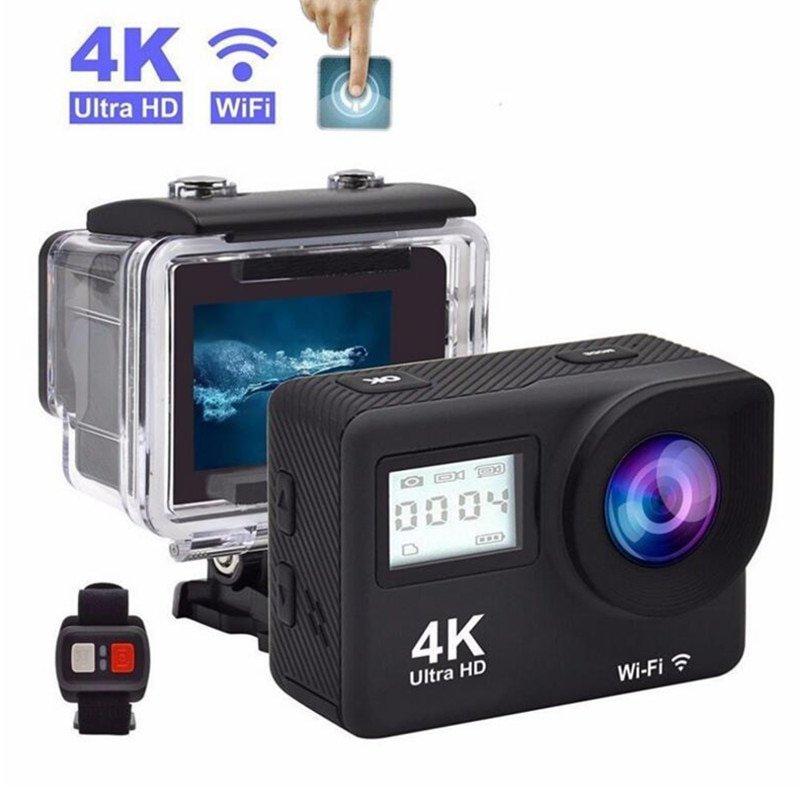 "Mini 4K Action Camera Sansnail WIFI 2.0"" Screen Full HD"
