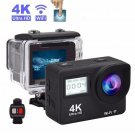 "Mini 4K Action Camera Sansnail WIFI 2.0"" Screen Full HD"