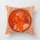European Retro Cushion Cover Classical Decorative Pillow Case Peach Skin Living Room Home Decoration