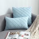 Modern Nordic Pillow Vintage Cover Suede Decoration Pillowcase Luxury Cushion Cover Classical