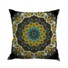 Vintage Pillowcase Geometric Decorative Velvet Microfiber Pillow Cushion Cover Home Living Room