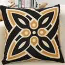 45x45cm Linen Vintage Indian Abstract Throw Pillow Case Office Cushion Sofa Cover Home Decor