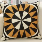 45x45cm Linen Vintage Indian Abstract Throw Pillow Case Office Cushion Sofa Cover Home Decor