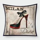 Jazz Heel Cushion Cover for Decoration Super Soft Pillowcase Home Decoration Pillow Cover