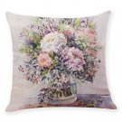 Flower Pillow Case Home Decor Printed Cushion Cover  Throw Pillowcase Decorative Pillows Cover