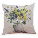 Flower Pillow Case Home Decor Printed Cushion Cover  Throw Pillowcase Decorative Pillows Cover