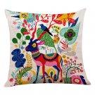 Decoration Pillow Cotton Linen Home Decor Cojine Housse de Coussin Pillow Cases Covers