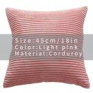 Velvet Cover Pillow Case Solid Color Decor Sofa Throw Pillows Pillow Case Decorative