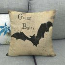45cm * 45cm halloween design linen / cotton pillowcase, sofa cushion cover, decorative pillowcase