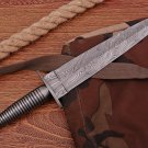 Handmade Damascus steel hunting Unique Dagger knife
