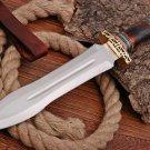 Custom Hand Made D2 steel hunting Dagger knife