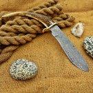Custom Hand Made Damascus Steel Hunting Knife