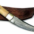 Hand forged Damascus steel 10.00 inches tanto knife
