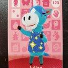 173 Julian Amiibo Card for Animal Crossing FAN made