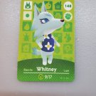 148 Whitney Amiibo Card for Animal Crossing FAN made