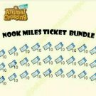 200x Nook Mile Tickets for Animal Crossing New Horizon