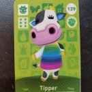 129 Tipper Amiibo Card for Animal Crossing FAN made