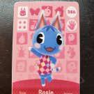 386 Rosie Amiibo Card for Animal Crossing FAN made