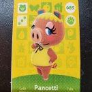 085 Pancetti Amiibo Card for Animal Crossing FAN made