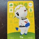 121 Tia Amiibo Card for Animal Crossing FAN made