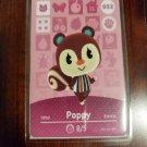 052 Poppy Amiibo Card for Animal Crossing FAN made