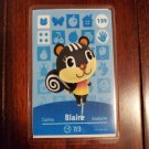 139 Blaire Amiibo Card for Animal Crossing FAN made