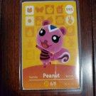 095 Peanut Amiibo Card for Animal Crossing FAN made
