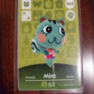 063 Mint Amiibo Card for Animal Crossing FAN made