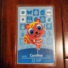 290 Caroline Amiibo Card for Animal Crossing FAN made