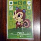 180 Pecan Amiibo Card for Animal Crossing FAN made